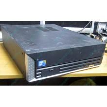 Лежачий четырехядерный компьютер Intel Core 2 Quad Q8400 (4x2.66GHz) /2Gb DDR3 /250Gb /ATX 250W Slim Desktop (Климовск)