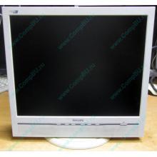 """Б/У монитор 17"""" Philips 170B с колонками и USB-хабом в Климовске, белый (Климовск)"""